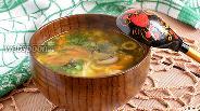 Фото рецепта Суп из сухих грибов шиитаке