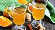 Фото рецепта Апельсиново-яблочный грог