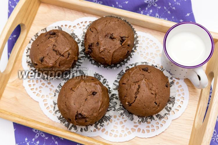 Кекс с шоколадными каплями рецепт с фото