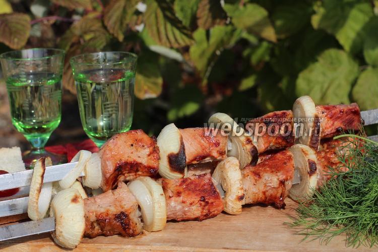 Фото Шашлык из свинины в винном маринаде