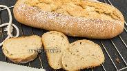 Фото рецепта Цельнозерновой хлеб на оливковом масле