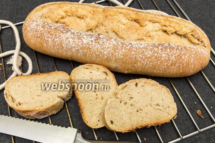 Фото Цельнозерновой хлеб на оливковом масле