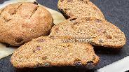 Фото рецепта Ржаной хлеб с изюмом