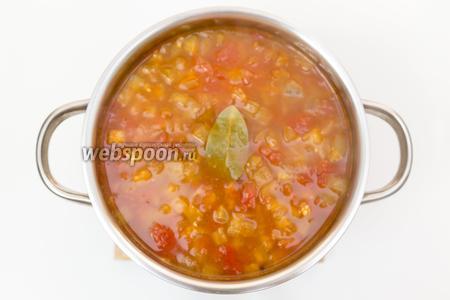 Суп готов. Подаём тёплым. Приятного аппетита!