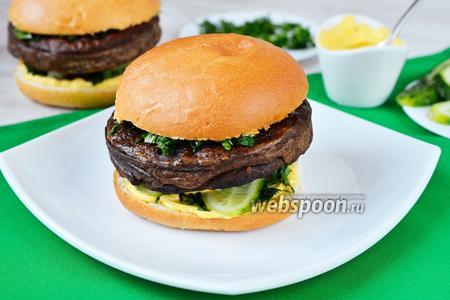 Гамбургеры с печёночными котлетами