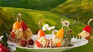 Фото рецепта Детское канапе с сыром