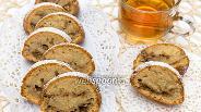 Фото рецепта Кекс на яблочном пюре с орехами