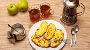 Фото рецепта Горячие бутерброды с яйцом и сыром