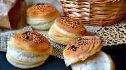 Фото рецепта Слоёные булочки от Ришара Бертине