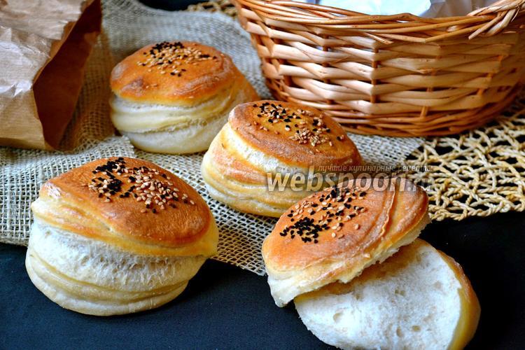 слоенные булочки фото рецепт
