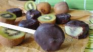 Фото рецепта Фруктовое «Эскимо» из киви