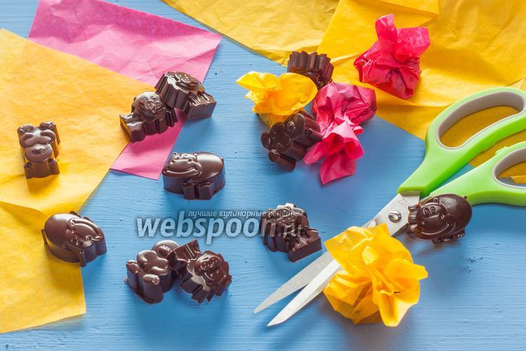 Фото Домашний шоколад с мёдом