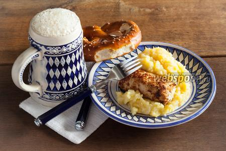 Фото рецепта Баварские колбаски «Wollwurst»