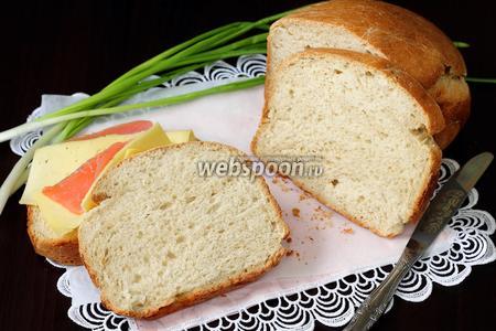 Хлеб на пиве и кефире с овсяными хлопьями в хлебопечке