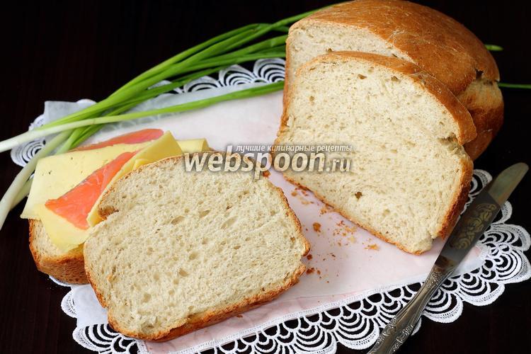 Фото Хлеб на пиве и кефире с овсяными хлопьями в хлебопечке