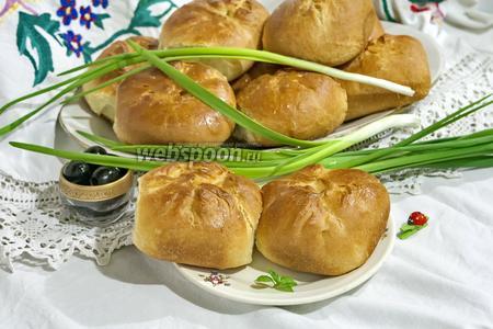 Пирожки духовые с бараньим фаршем