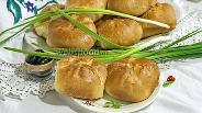Фото рецепта Пирожки духовые с бараньим фаршем