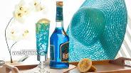 Фото рецепта Коктейль «Голубая лагуна»