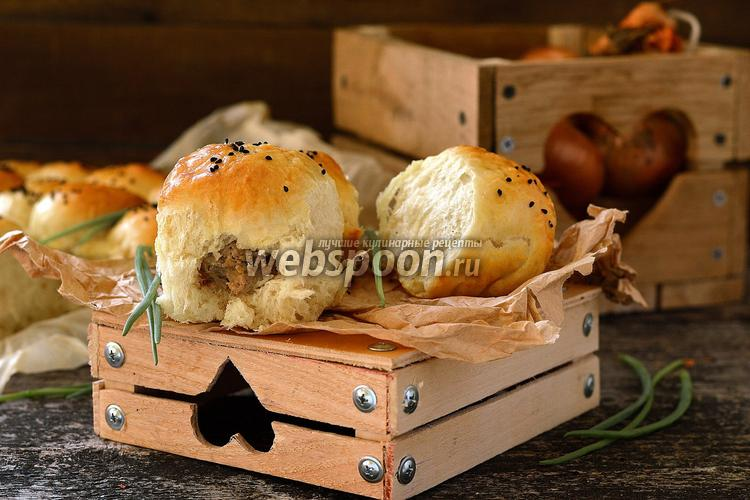 Фото Дрожжевые пирожки с курицей