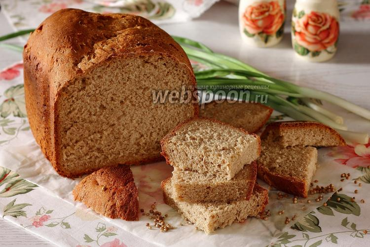 Фото Хлеб на тёмном пиве в хлебопечке