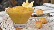 Фото рецепта Заварной яблочный крем с маслом