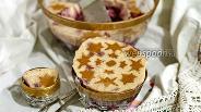 Фото рецепта Молочно-вишнёвое желе
