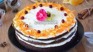 Фото рецепта Тыквенный торт