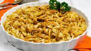 Фото рецепта Тёплый салат с индейкой