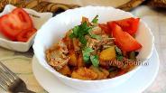 Фото рецепта Рагу овощное со стручковой фасолью