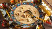 Фото рецепта Постный диетический суп-пюре из лисичек