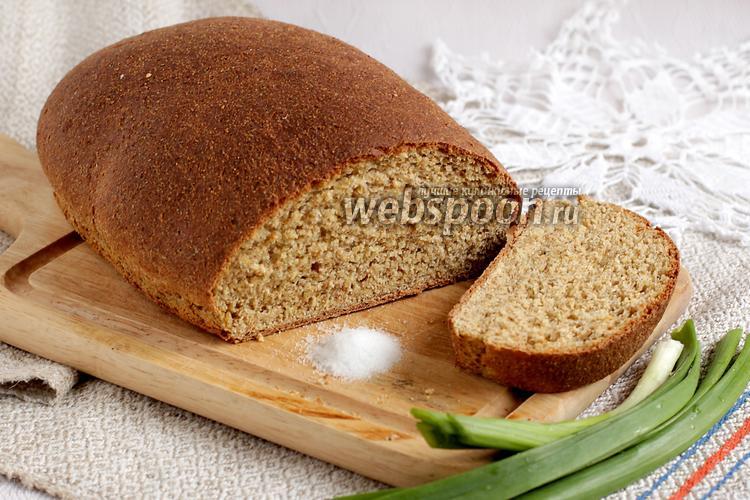 Фото Кукурузный хлеб с клетчаткой