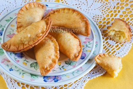 Фото рецепта Сырные пирожки с картошкой