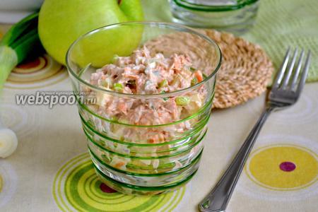 Американский салат с тунцом