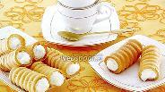Фото рецепта Трубочки «Воздушные»