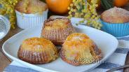 Фото рецепта Кексы на скорую руку с мандаринами