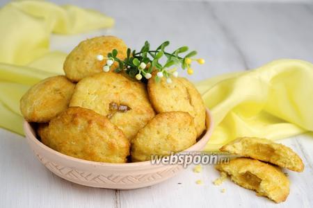 Кукурузное печенье с начинкой