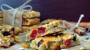 Фото рецепта Овсяные батончики с сухофруктами и орехами