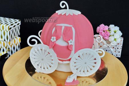 Торт «Карета для Золушки»