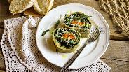 Фото рецепта Ротоло с печёной тыквой и шпинатом