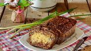 Фото рецепта Печёночный пирог с рисом и сыром