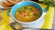 Фото рецепта Сырный суп с креветками