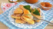 Фото рецепта Жареный сулугуни с абрикосовым джемом