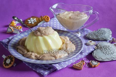 Десертный соус из пряников