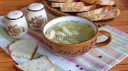 Фото рецепта Куриный суп с галушками