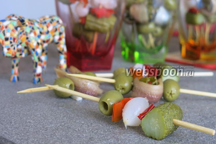 Фото Бандерилья (испанская закуска)
