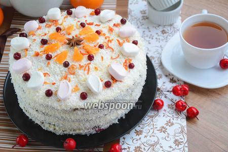 Торт «Зимний»