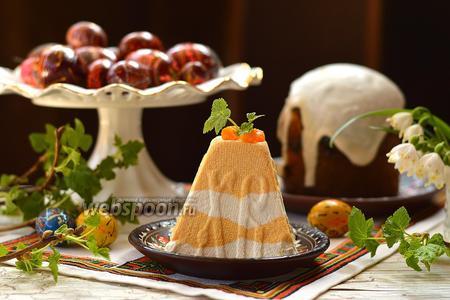 Тыквенно-ванильная пасха