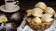 Фото рецепта Печенье «Подушечки» с яблочной начинкой
