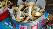 Фото рецепта Печенье «Ушки с маком»