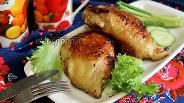 Фото рецепта Куриные бёдра в пряном маринаде жареные